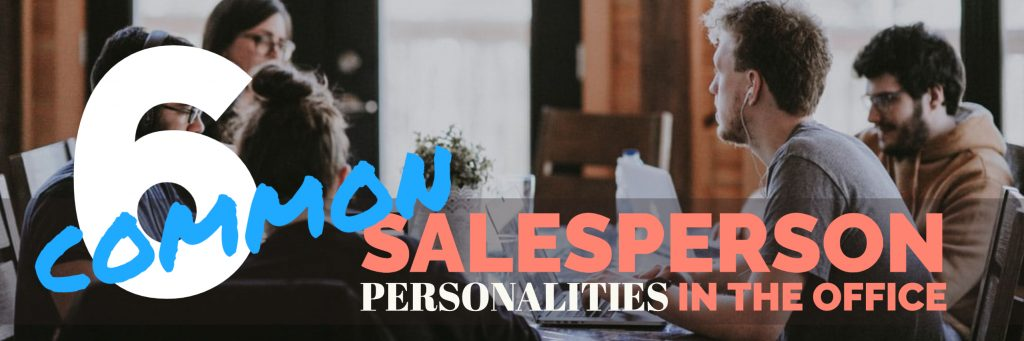 7 common SALESPERSON PERSONALITIES IN THE OFFICE bear bull co consulting more sales less turnover